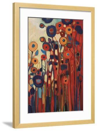 Meet Me In My Garden Dreams Pt. 2-Jennifer Lommers-Framed Art Print
