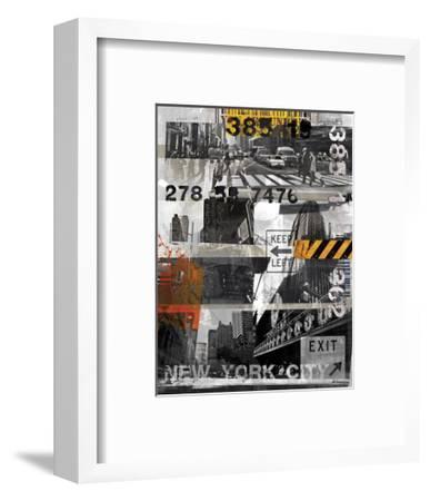 New York Style XI-Sven Pfrommer-Framed Art Print