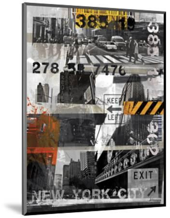 New York Style XI-Sven Pfrommer-Mounted Art Print