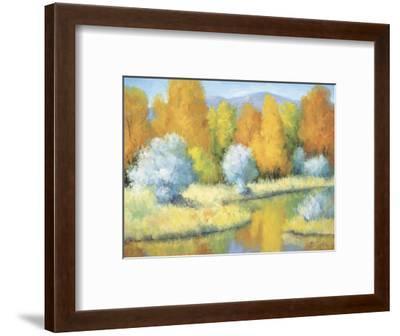October Reflections-Bunny Oliver-Framed Art Print