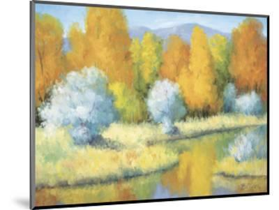 October Reflections-Bunny Oliver-Mounted Art Print