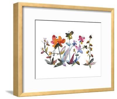 Nouveau Boheme - Island Series No. 3-Kiana Mosley-Framed Art Print
