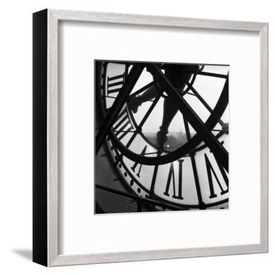 Orsay Clock-Tom Artin-Framed Art Print