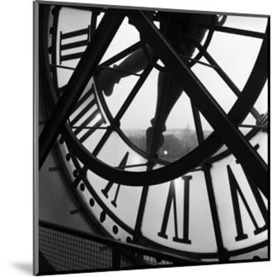 Orsay Clock-Tom Artin-Mounted Art Print