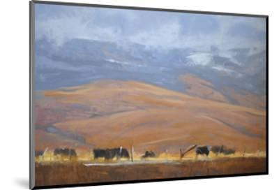 North Powder Cows-Todd Telander-Mounted Art Print