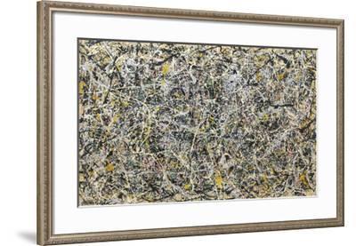 Number 1, 1949, 1949-Jackson Pollock-Framed Art Print