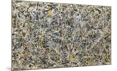 Number 1, 1949, 1949-Jackson Pollock-Mounted Art Print