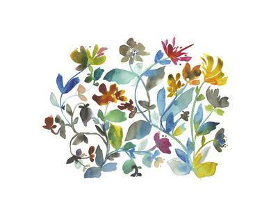 Peregrine Garden-Kiana Mosley-Framed Art Print