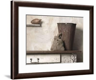 Pail with Yam-Gaetano Art Group-Framed Art Print
