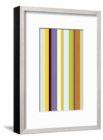 Paprika Stripe-Dan Bleier-Framed Art Print