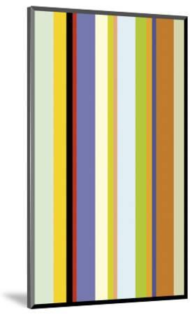 Paprika Stripe-Dan Bleier-Mounted Art Print