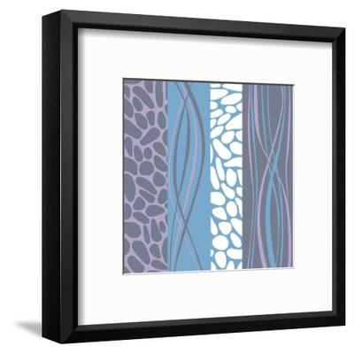 Pebble Stream-Denise Duplock-Framed Art Print