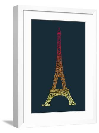 Word Play France-Tom Frazier-Framed Giclee Print