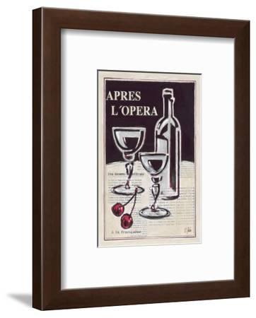 Apres L'Opera Porto-Rene Stein-Framed Art Print
