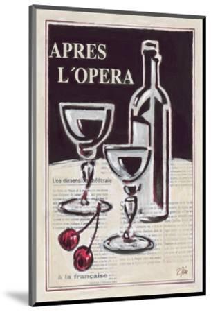 Apres L'Opera Porto-Rene Stein-Mounted Art Print