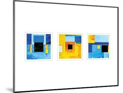 Bauhaus Sketches-Carmine Thorner-Mounted Art Print