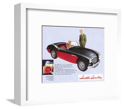 Austin Healey 100 Six--Framed Art Print