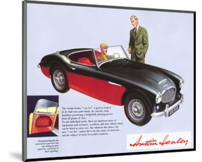 Austin Healey 100 Six--Mounted Art Print