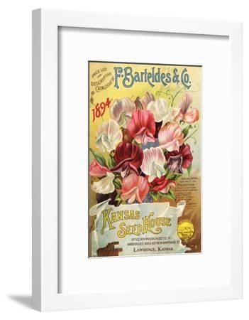 Barteldes Catalog Lawrence KS--Framed Art Print
