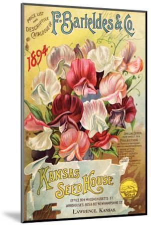 Barteldes Catalog Lawrence KS--Mounted Art Print