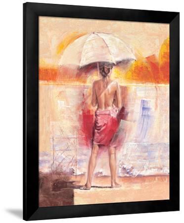 Artist's Muse-Talantbek Chekirov-Framed Art Print
