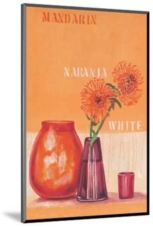 Composed in Orange-Anna Flores-Mounted Art Print