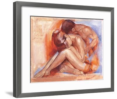 Deep Emotion-Talantbek Chekirov-Framed Art Print