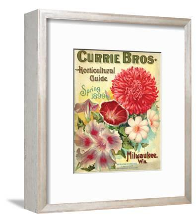Currie Milwaukee Hortic. Guide--Framed Art Print