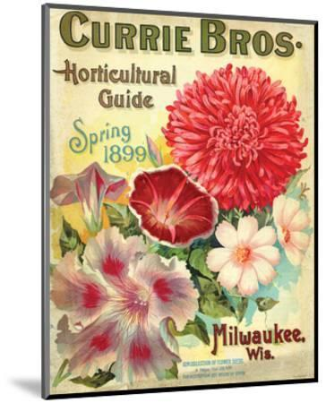 Currie Milwaukee Hortic. Guide--Mounted Art Print