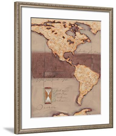 Discover America-Joadoor-Framed Art Print