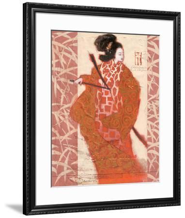 Geisha in Arms-Joadoor-Framed Art Print