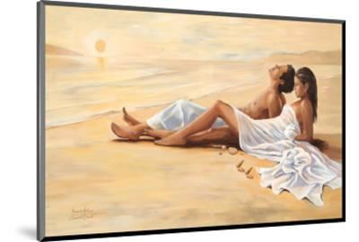 Indian Sunset Beach-Renate Holzner-Mounted Art Print