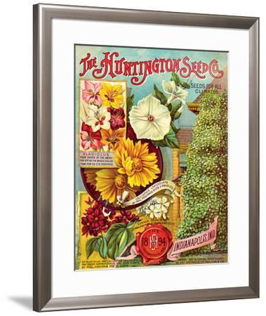 Huntington Seed Indianapolis--Framed Premium Giclee Print