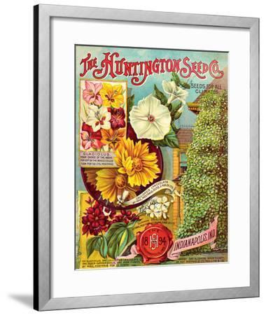 Huntington Seed Indianapolis--Framed Art Print