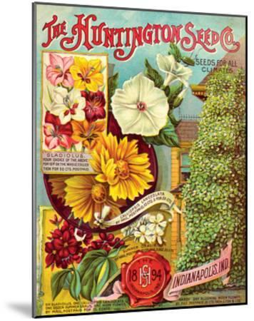 Huntington Seed Indianapolis--Mounted Art Print