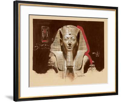 Living Image of Amun-Joadoor-Framed Art Print