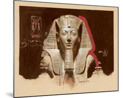 Living Image of Amun-Joadoor-Mounted Art Print