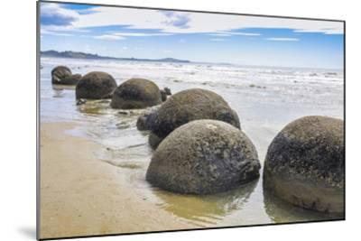 Moeraki Boulders New Zealand--Mounted Art Print