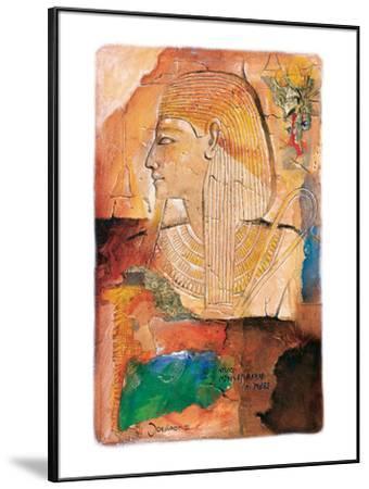 Medinet Habob in Thebe-Joadoor-Framed Art Print