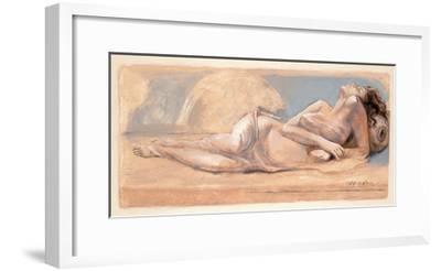 On the Swing-Talantbek Chekirov-Framed Premium Giclee Print