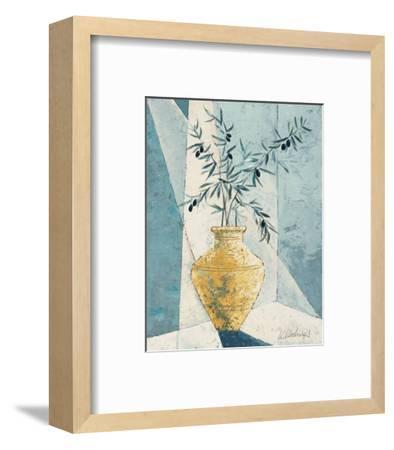 Olive Tree Branches-Karsten Kirchner-Framed Art Print