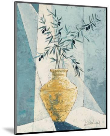 Olive Tree Branches-Karsten Kirchner-Mounted Art Print