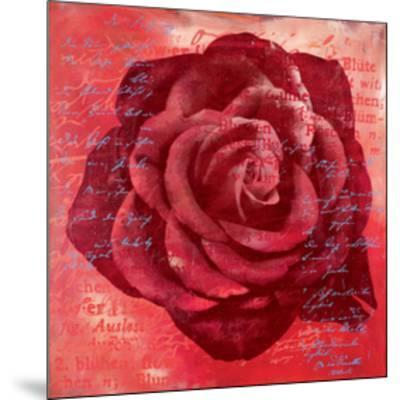 Red Rose-Anna Flores-Mounted Premium Giclee Print