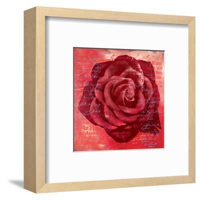 Red Rose-Anna Flores-Framed Art Print
