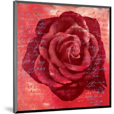 Red Rose-Anna Flores-Mounted Art Print