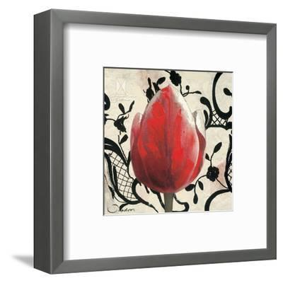 Red Tulip-Joadoor-Framed Art Print