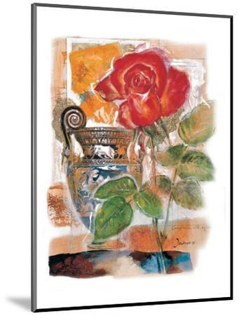 Red Rose-Joadoor-Mounted Art Print