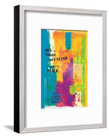 Pure Energy-Lucy Cloud-Framed Art Print