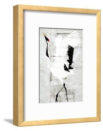 Red-Crowned Dance-Rachel Travis-Framed Art Print