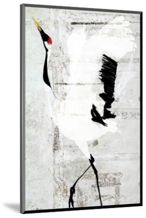 Red-Crowned Dance-Rachel Travis-Mounted Art Print